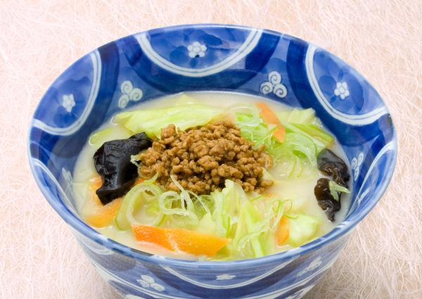 雅セット(味噌白湯うどん)イメージ写真