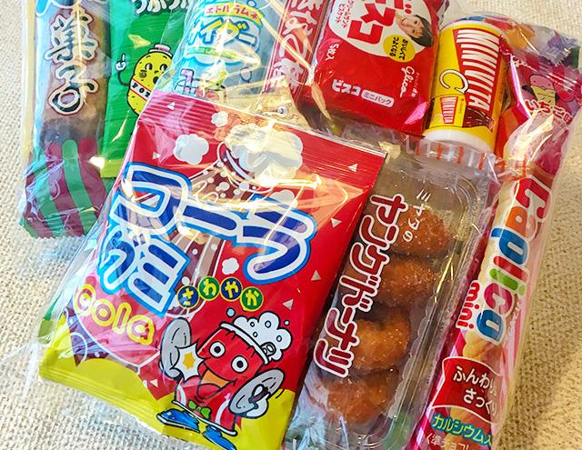 夏休み限定販売!お菓子詰め合わせイメージ画像