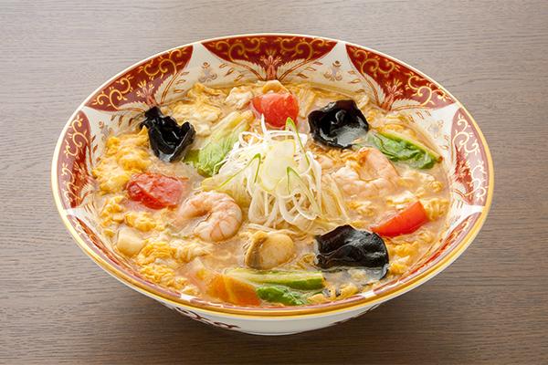 酸辣スープうどん