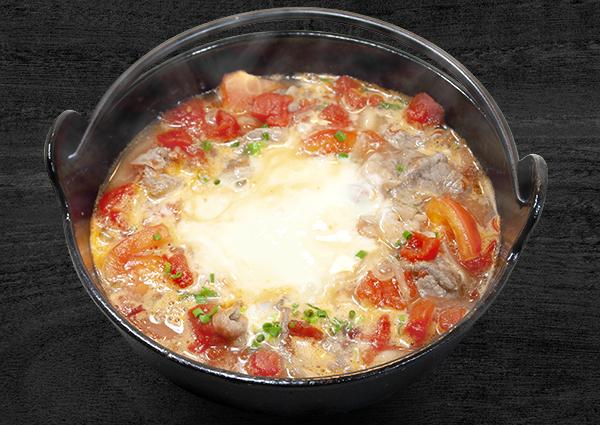 [佐久平店・長野稲里店]とろ~りチーズのトマトうどんイメージ写真