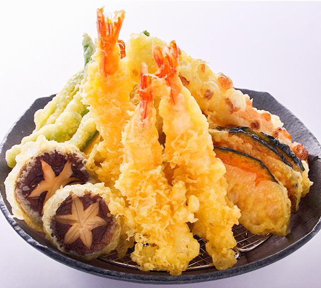 お盆はむぎの里の天ぷらを!イメージ画像